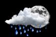 Ícone de condição de tempo: Nublado com Possibilidade de Chuva